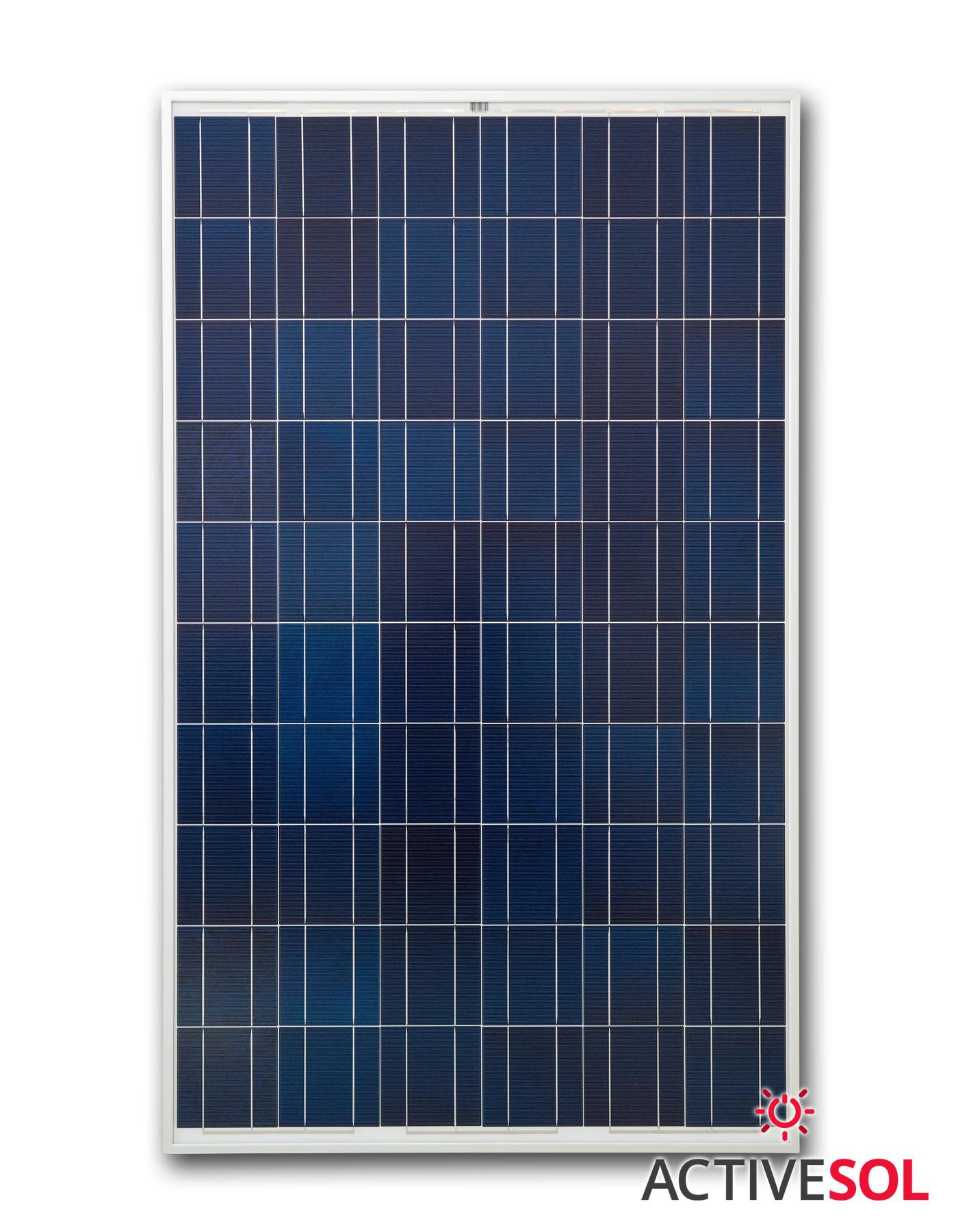 Panel fotowoltaiczny Poli ASOL-250P-WSR