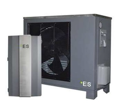 Pompa ciepła powietrze-woda typu split 11 kW
