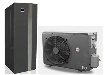 Zestaw - Pompa ciepła powietrze/woda - split ze zbiornikiem dedykowanym AWT - 6kW